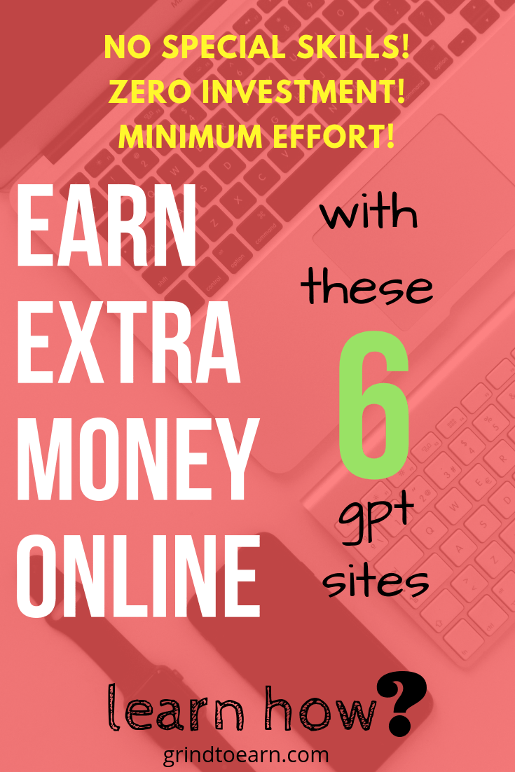 Utilize your downtime/sparetime effectively !!Learn how to make money online from home with these free & best gpt sites by putting minimum effort and  without any investment.All these sites  paid you to.... #free #easy #website#without investment#India